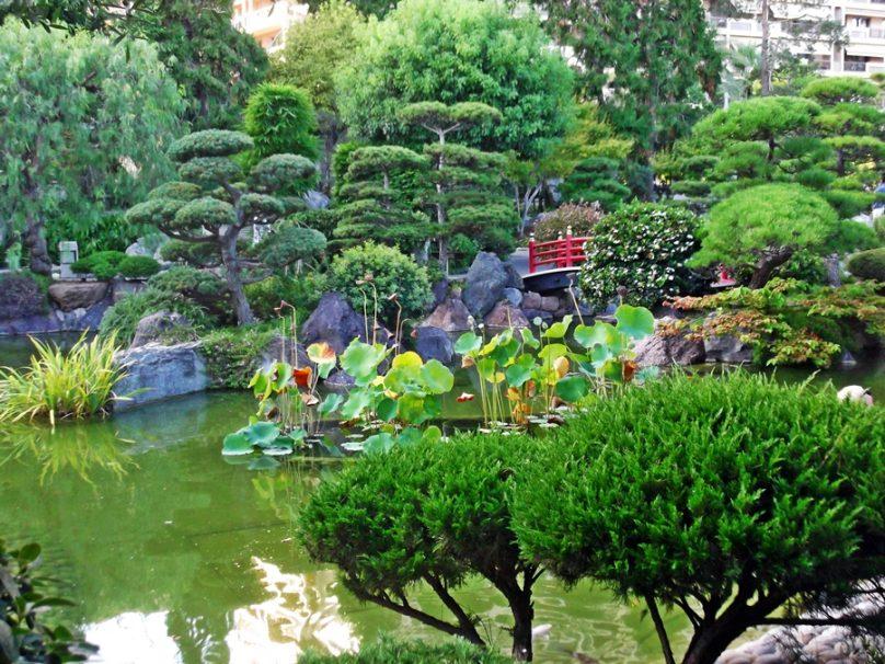 Jardín japonés (Distrito de Monte Carlo/Spélugues, Mónaco)