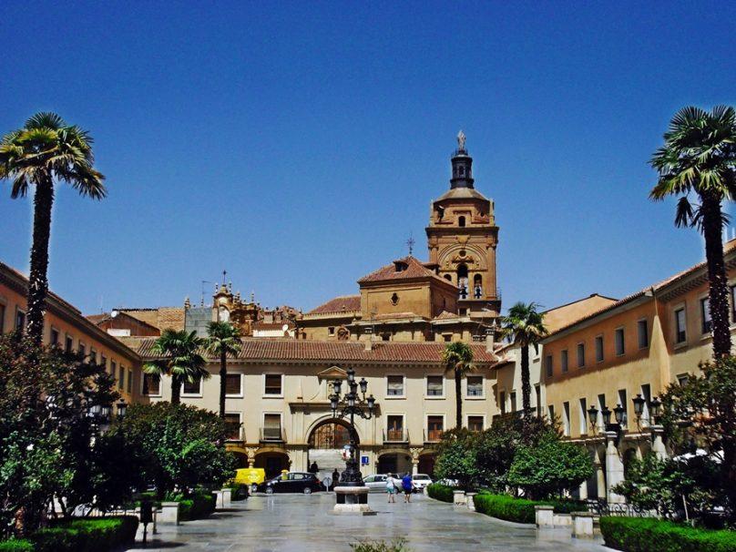 Plaza de las Palomas (Guadix, Andalucía)