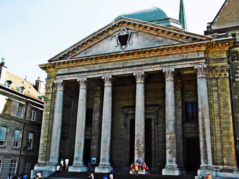 Catedral de San Pedro (Ginebra, Suiza)