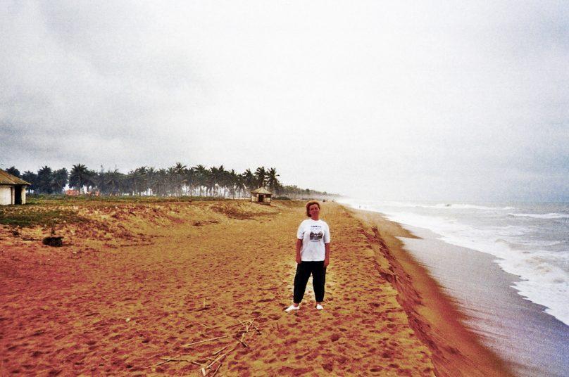 Playa de Ouidah (Departamento de Atlantique, Benín)