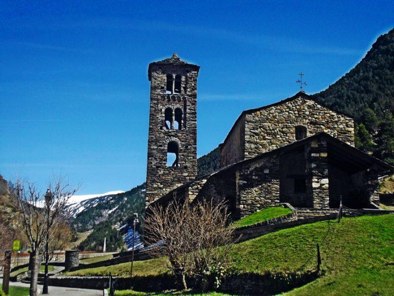 Iglesia de Sant Joan de Caselles (Canillo, Andorra)