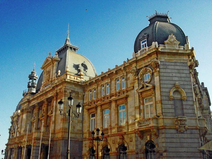 Ayuntamiento de Cartagena (Cartagena, Región de Murcia)