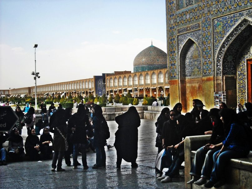 Plaza Naqsh-e Jahan (Isfahán, Irán)