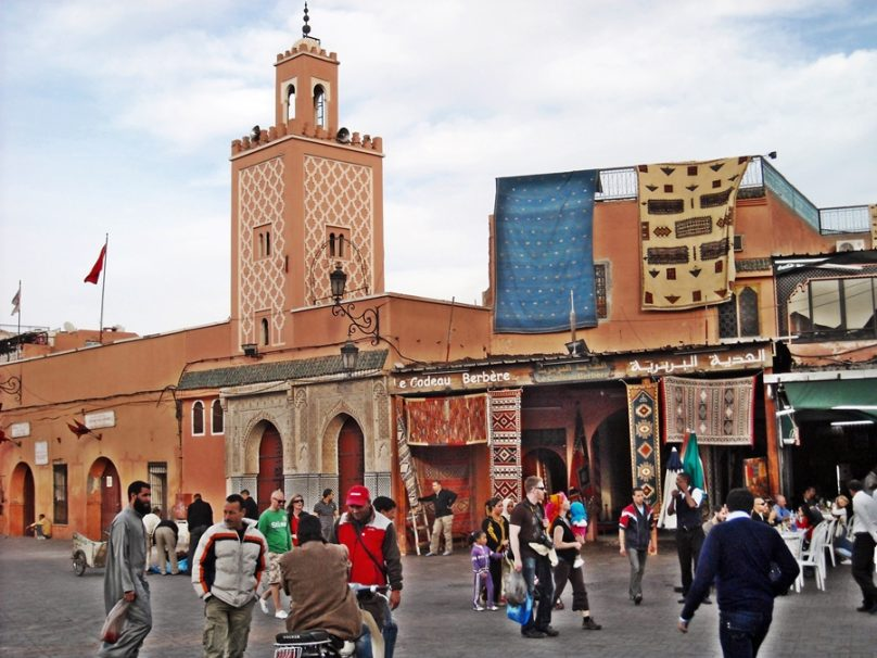Medina de Marrakech (Marrakech, Marruecos)