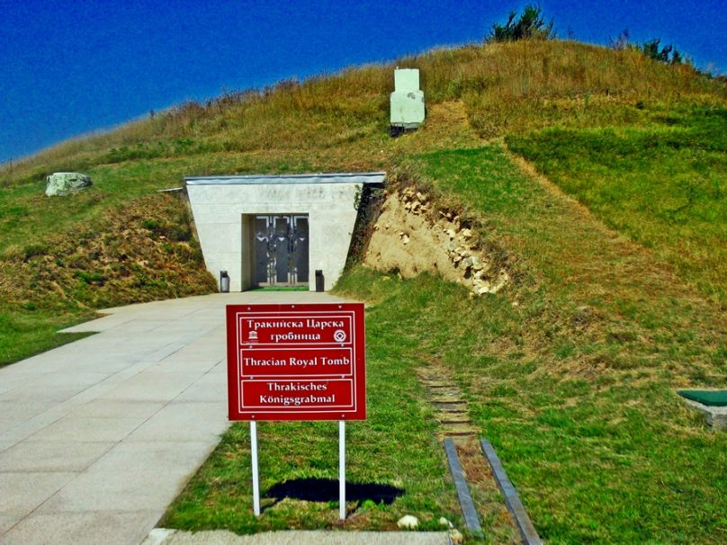 Tumba de Sveshtari (Provincia de Razgrad, Bulgaria)