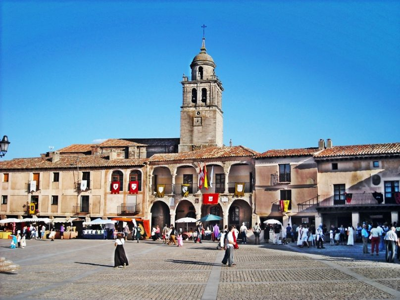 Plaza Mayor (Medinaceli, Castilla y León)