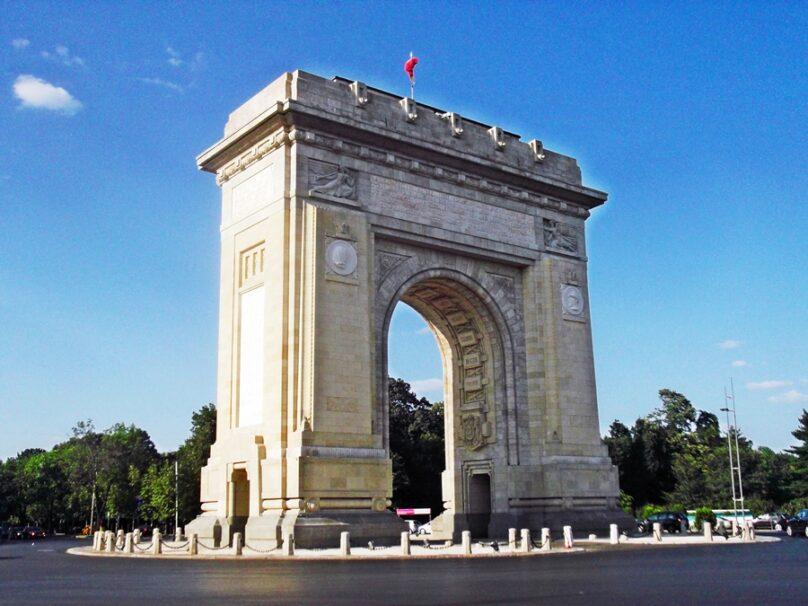 Arcul de Triumf (Bucarest, Rumanía)