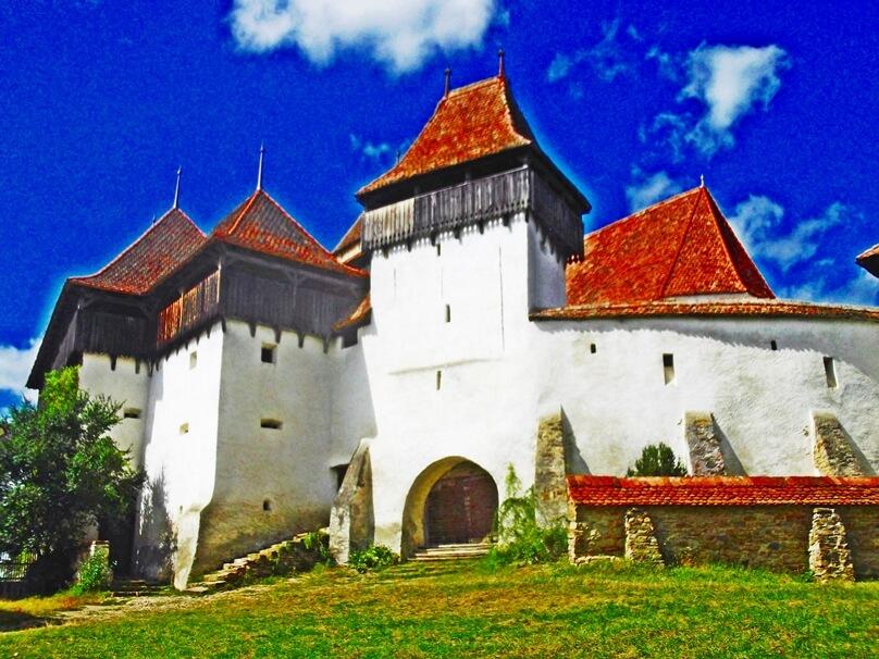 10 aldeas con iglesias fortificadas que son una pasada