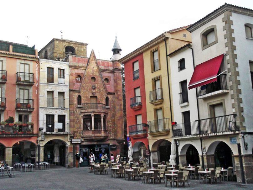 Edificio del Manjuli (Plasencia, Extremadura)