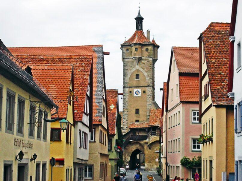 Rothenburg ob der Tauber (Estado de Baviera, Alemania)