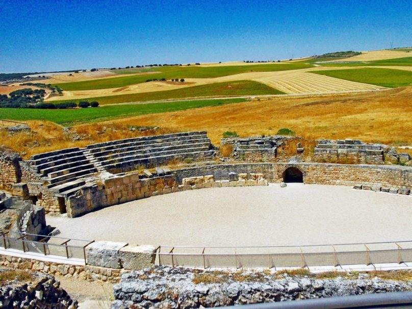 Anfiteatro de Segóbriga (Municipio de Saelices, Castilla-La Mancha)