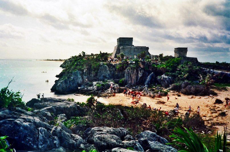 Playa de Tulum (Estado de Quintana Roo, México)