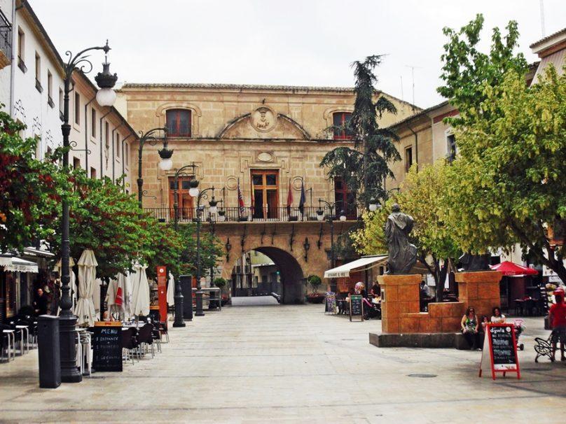 Plaza del Arco (Caravaca de la Cruz, Región de Murcia)
