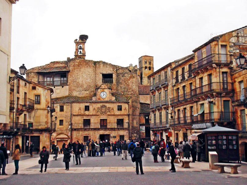 Plaza Mayor (Sepúlveda, Castilla y León)