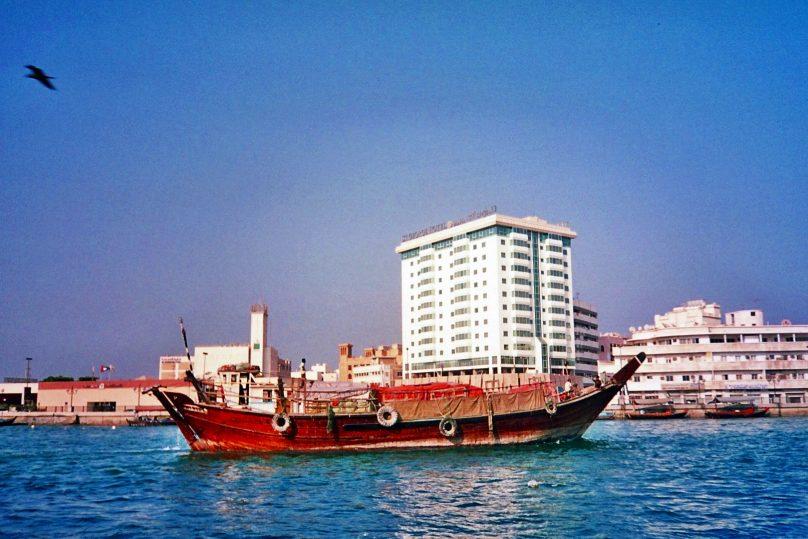 Khor Dubai (Emirato de Dubai, Emiratos Árabes Unidos)