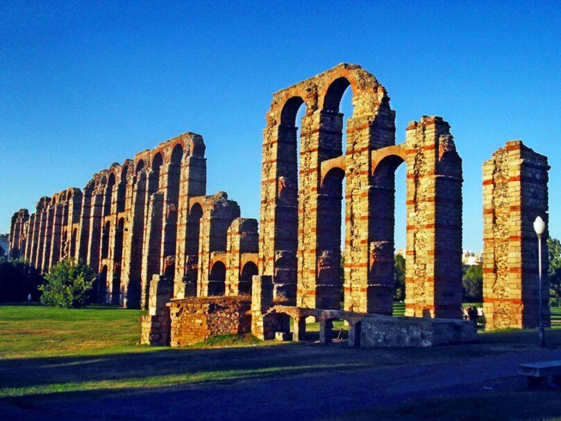Acueducto de los Milagros (Municipio de Mérida, Extremadura)