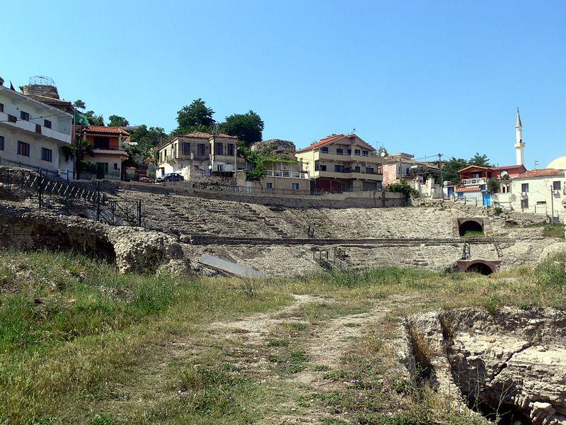 Anfiteatro de Durres (por Jorge Sánchez)