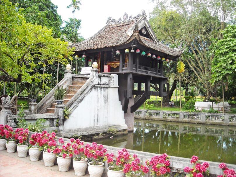Chùa Một Cột (Hanoi, Vietnam)