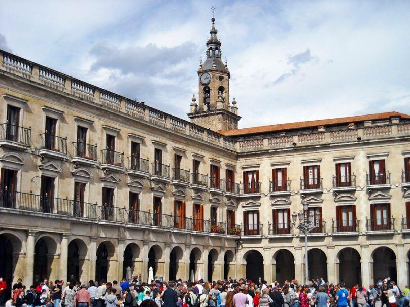 Plaza de España (Vitoria, País Vasco)