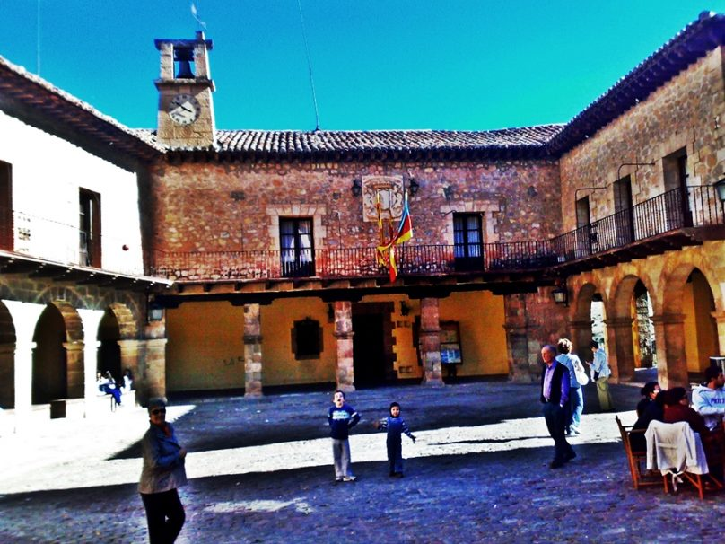 Plaza Mayor (Albarracín, Aragón)