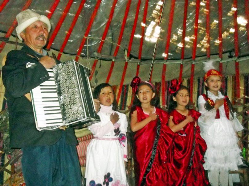Gente kirguís