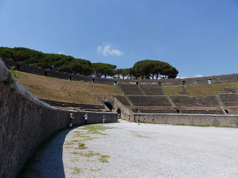 Anfiteatro de Pompeya (Región de Campania, Italia)