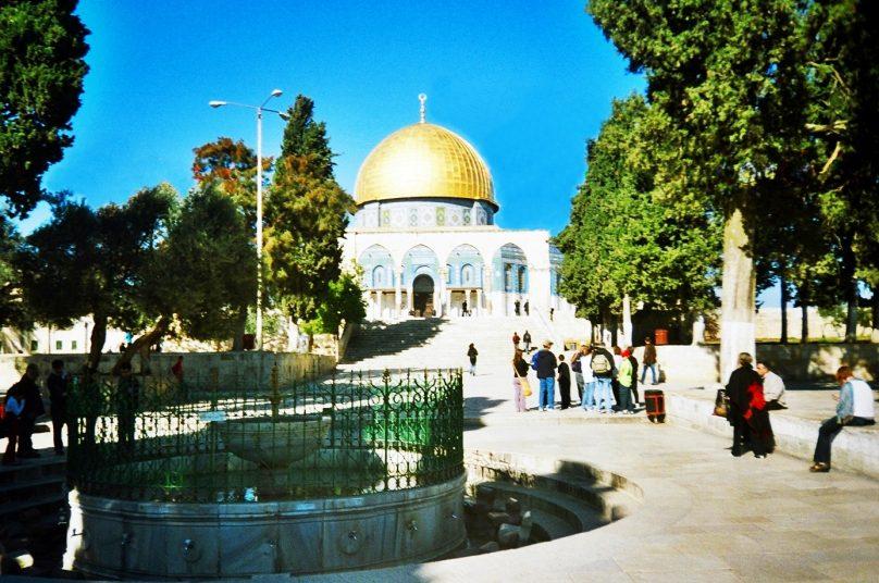 Explanada de las Mezquitas (Jerusalén, Palestina)