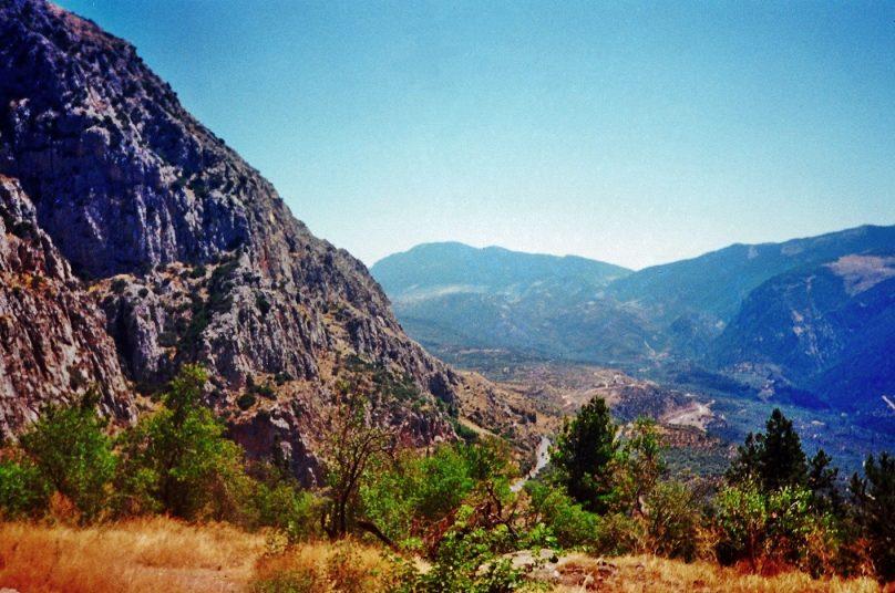 Monte Parnaso (Región de Grecia Central, Grecia)