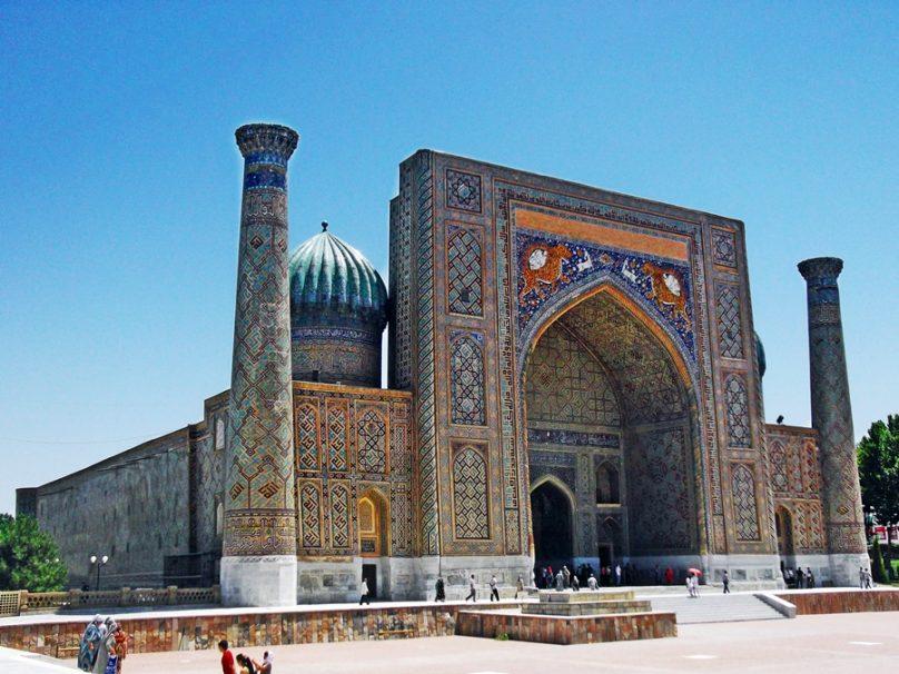 Madrasa Sherdor (Samarcanda, Uzbekistán)