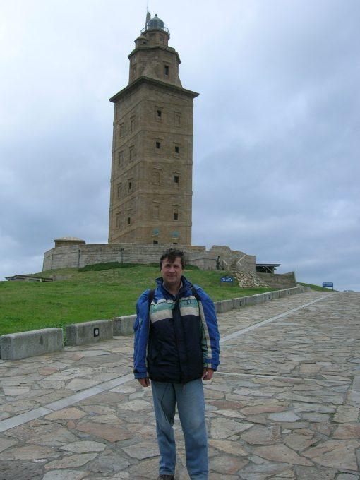 Torre de Hércules (por Jorge Sánchez)