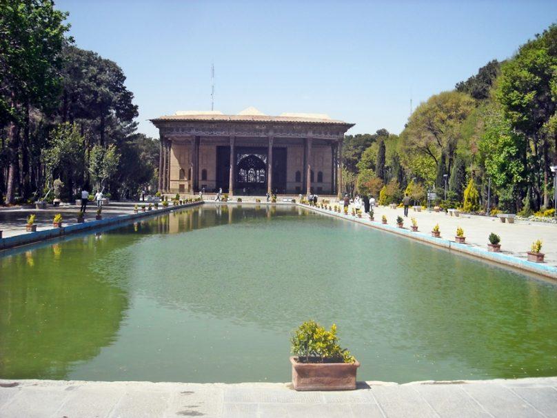 Chehel Sotoun (Isfahán, Irán)