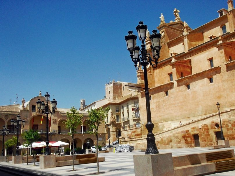 Plaza de España (Lorca, Región de Murcia)