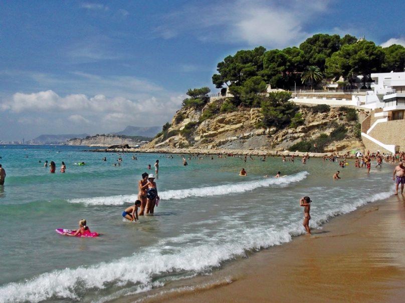 Playa del Portet (Municipio de Teulada, Comunidad Valenciana)