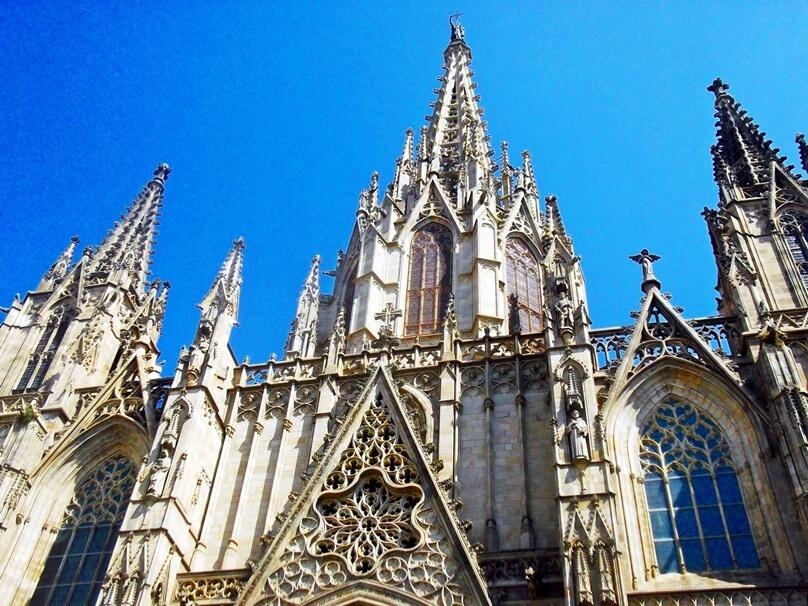 Catedral de la Santa Cruz y Santa Eulalia (Barcelona, Cataluña)