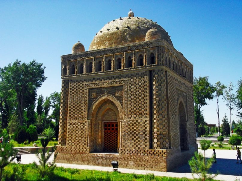 Mausoleo de Ismail Samani (Bukhara, Uzbekistán)
