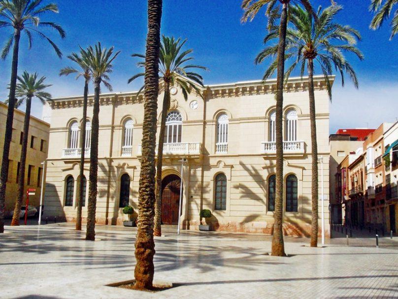 Casco histórico (Almería, Andalucía)
