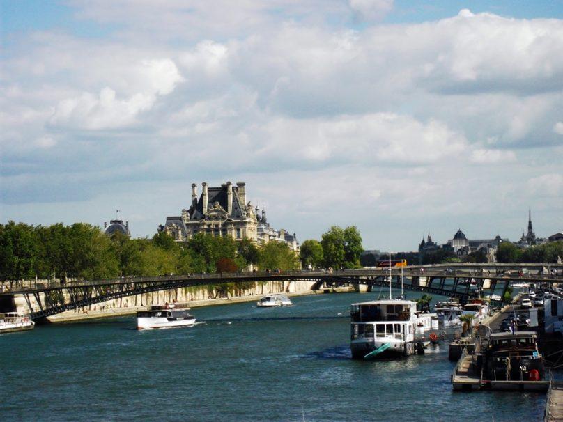 Orillas del Sena (París, Francia)