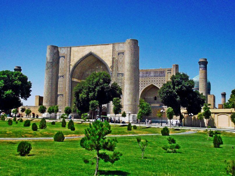 Mezquita Bibi Khanum (Samarcanda, Uzbekistán)
