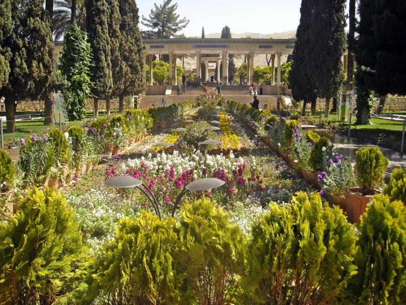 Jardín persa (Irán)
