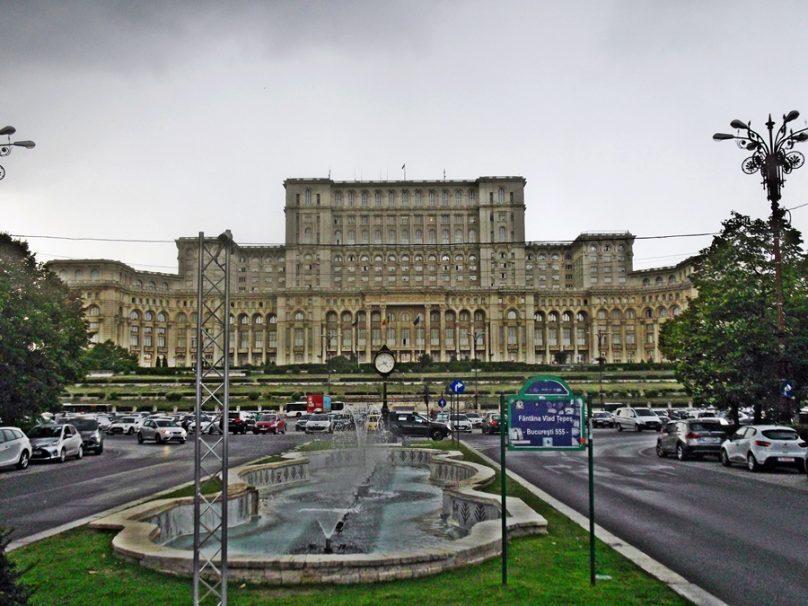 Palacio del Parlamento (Bucarest, Rumanía)