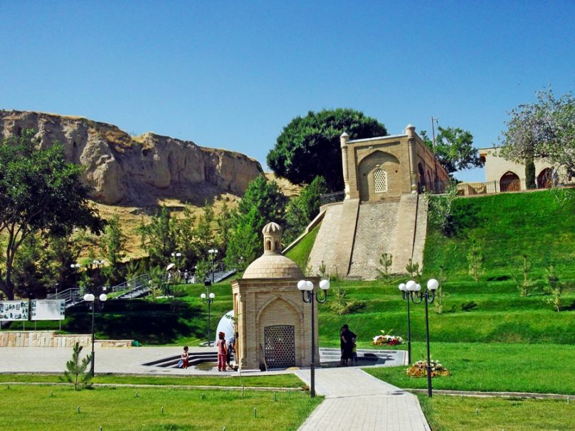 Tumba del profeta Daniel (Samarcanda, Uzbekistán)
