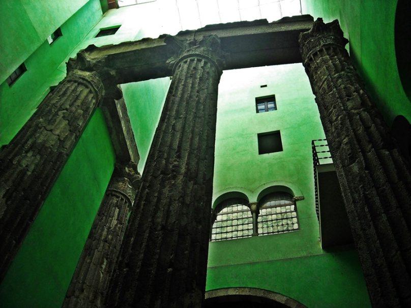 Templo de Augusto (Barcelona, Cataluña)