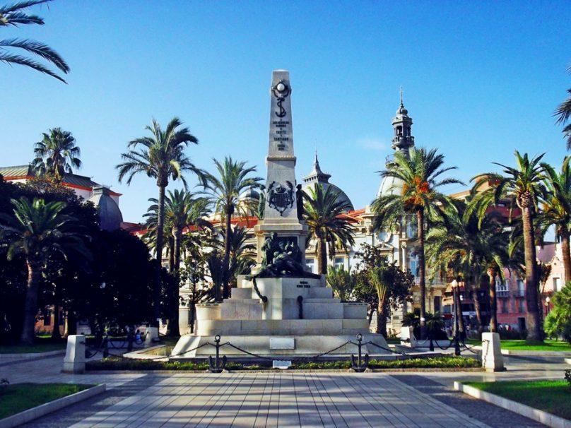 Plaza Héroes de Cavite (Cartagena, Región de Murcia)