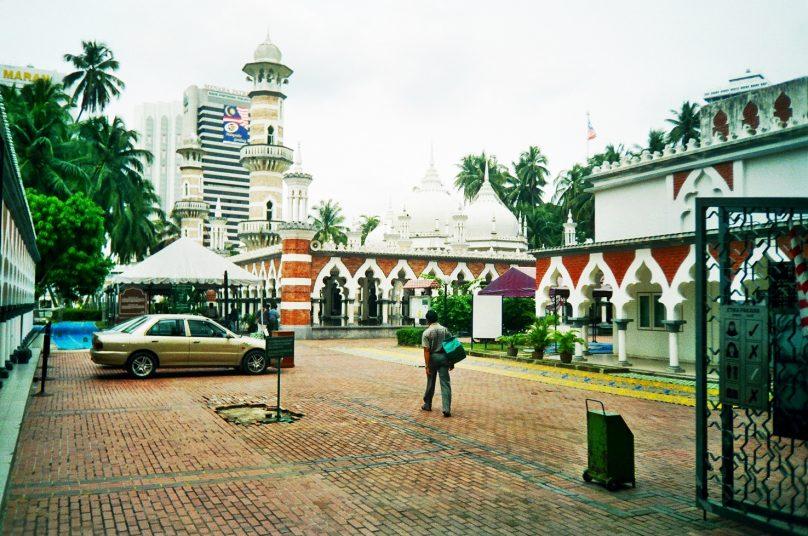 Mezquita Jamek (Kuala Lumpur, Malasia)
