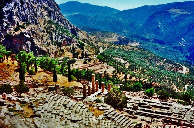 Teatro de Delfos (Periferia de Grecia Central, Grecia)