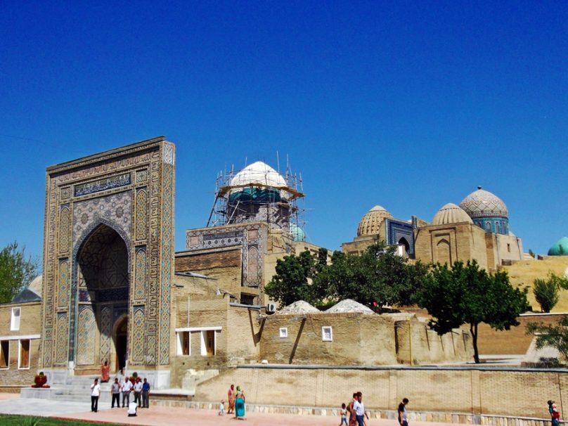 Necrópolis Shah-i-Zinda (Samarcanda, Uzbekistán)