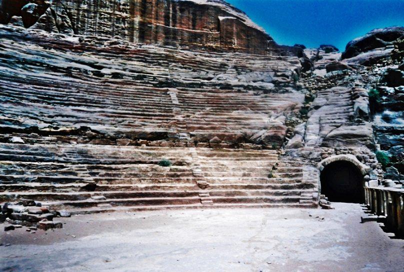 Teatro de Petra (Gobernación de Ma'an, Jordania)