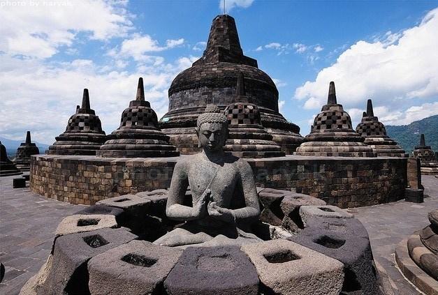 Borobudur (por Jorge Sánchez)