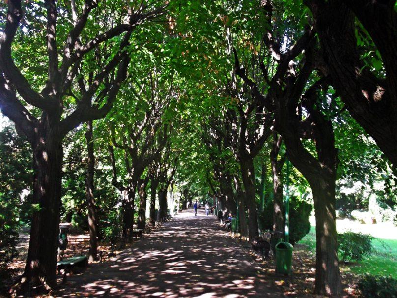 Parque Cișmigiu (Bucarest, Rumanía)