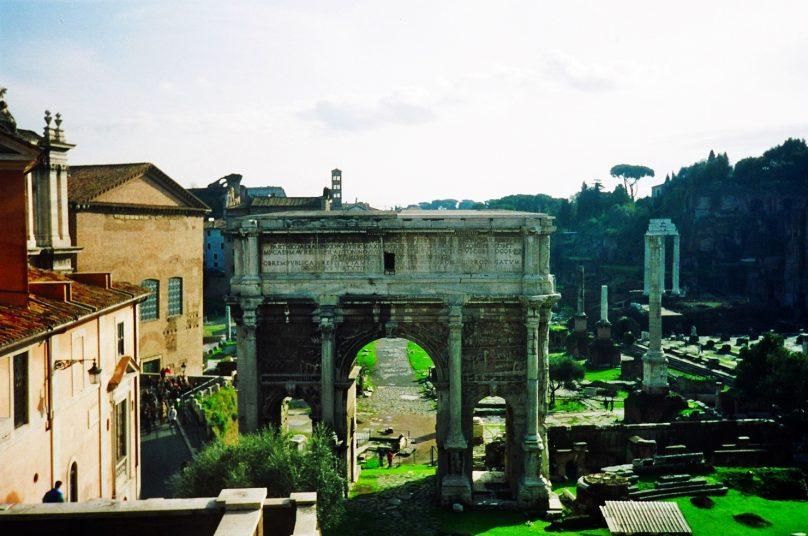 Arco de Septimio Severo (Roma, Italia)